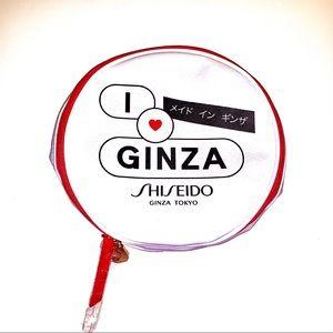 💄NWOT I ❤️ Ginza Shiseido Cosmetic Bag